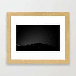 Friday Night Lights Framed Art Print