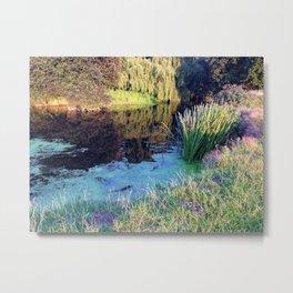 Colourful English countryside  Metal Print
