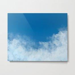 Head in the Clouds: Sky Art Metal Print