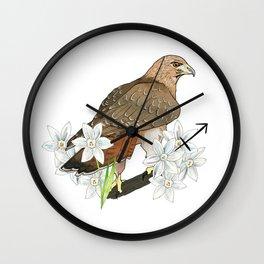 Sagittarius Hawk Wall Clock