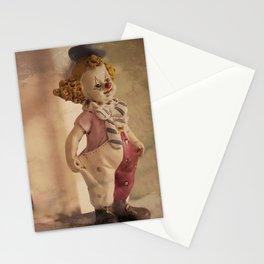The Clown is ready for a new show  - El payaso ya está preparado para un nuevo show Stationery Cards