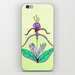 Archery Blossoming iPhone Skin