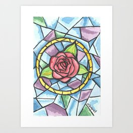 Rose Colored Glass Art Print