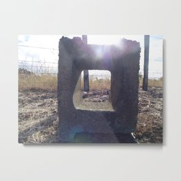 Tiny Window Metal Print