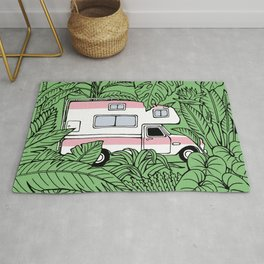Tropical RV Adventure Rug
