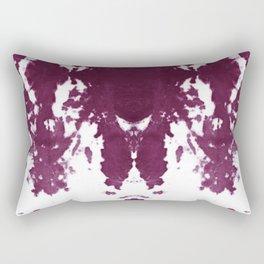 Velvet Kumo Shibori Plum Rectangular Pillow