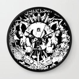 Red Panda Death Metal cutie Aggretsuko Wall Clock
