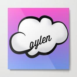 jc caylen cloud  Metal Print