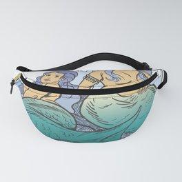 Plus Sized Mythological Mermaids Fanny Pack