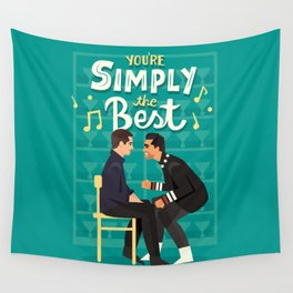 Simply the best Wall Tapestry