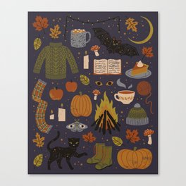 Autumn Nights Canvas Print