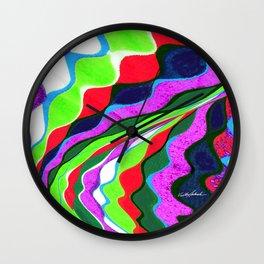 I Dream in Colors Wall Clock