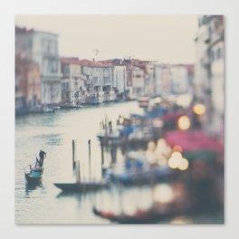 winter in Venice ... Canvas Print