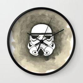 Storm Trooper Watercolor Wall Clock