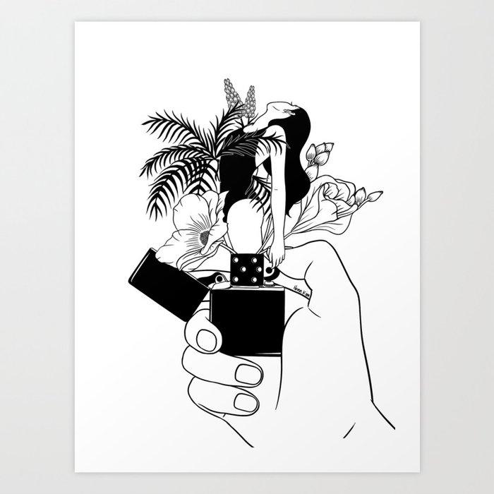 Light My Fire Kunstdrucke