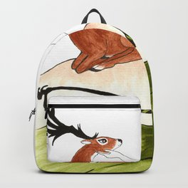 The Lady Artemis, The Goddess of the Hunt Backpack