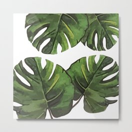 Palm Cuts Metal Print