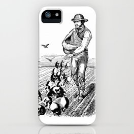 Sowing Fear iPhone Case
