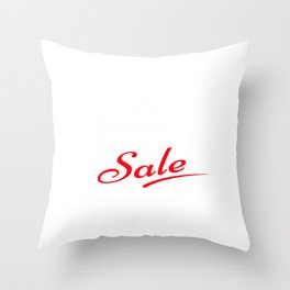 Black Friday Sale Throw Pillow