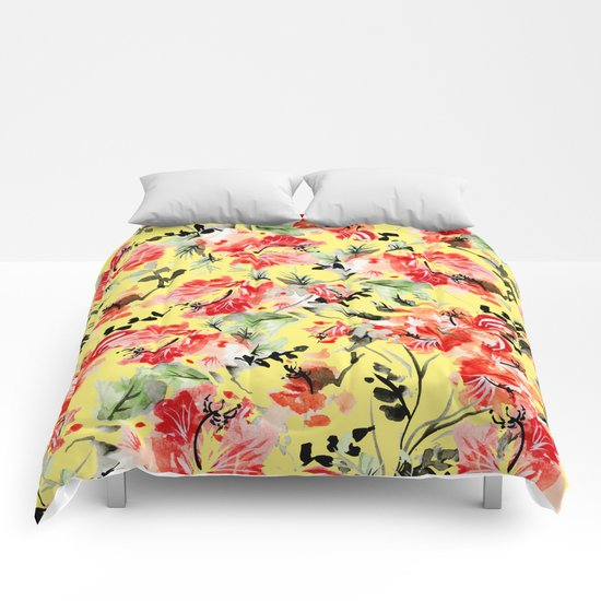 Happiness Society6 Decor Buyart Comforters By 83