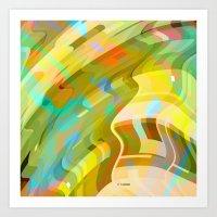 010design_castle Art Print