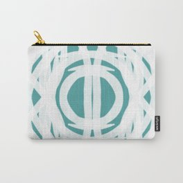 White Shield | Saro-Gongo Pattern Carry-All Pouch