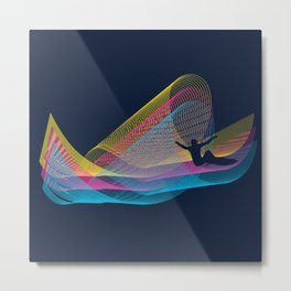 Soundwaves Metal Print