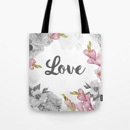 FLORAL DESIGN Tote Bag