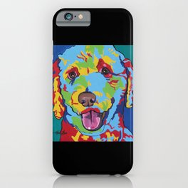 Millie the Curly Dog iPhone Case