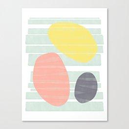 Beach Vibes #society6 #abstractart Canvas Print