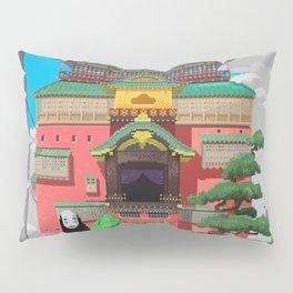 Spirited Away - Pixel Art Pillow Sham