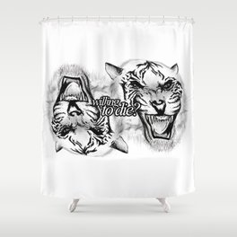 Willing to die? Shower Curtain
