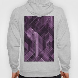 Abstract violet pattern Hoody