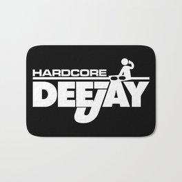 Hardcore DeeJay Music Quote Bath Mat