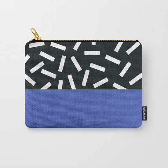 Memphis pattern 19 Carry-All Pouch
