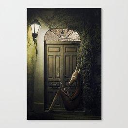 Shamán Canvas Print