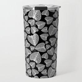 Black White Pattern Travel Mug