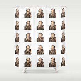 It's Clive O'clock Somewhere Shower Curtain