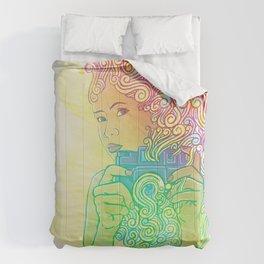 Doodle shot Comforters