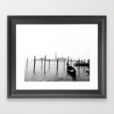 Gondola Framed Art Print