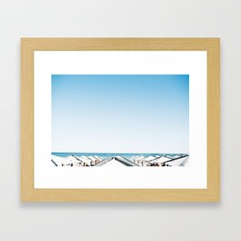 Cascais Beach Bums Framed Art Print