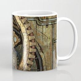 Rusty Vintage Steampunk Gears Coffee Mug