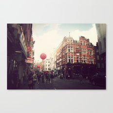 Chinatown , London. Canvas Print