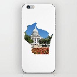 Beautiful Capitol Building in Wisconsin iPhone Skin