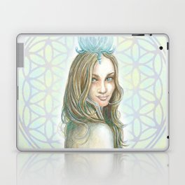Her Invisible Crown Laptop & iPad Skin