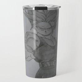 Dragonball Z Trunks Sketch Travel Mug