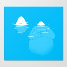 The Tip Of The Iceberg Canvas Print