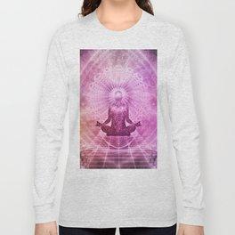 Zen Meditation Mind Expansion Long Sleeve T-shirt