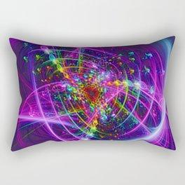 Blooming Colors Rectangular Pillow