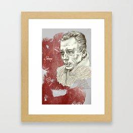 Camus - The Stranger Framed Art Print